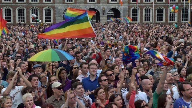Celebrations started at Dublin Castle