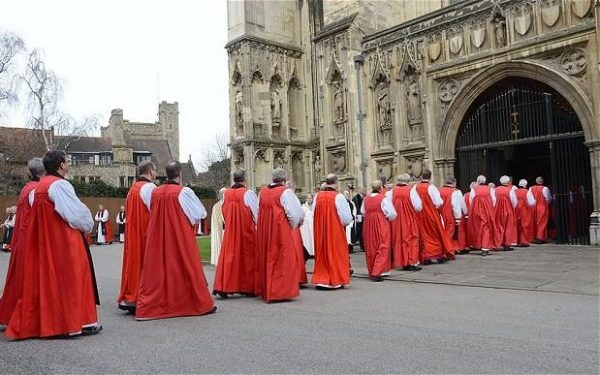 Anglican primates in Canterbury